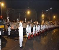 القوات المسلحة  تعقم مجلسي الوزراء والنواب لمواجهة كورونا