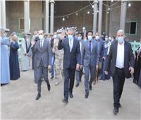 محافظ سوهاج يؤدي واجب العزاء لأسرة الشهيد «محمد ماهر» بالبلينا