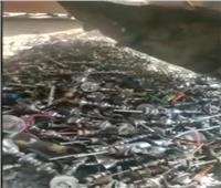 مصادرة 263 شيشة من المقاهي بكفر الدوار