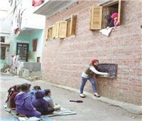 ريم.. مدرسة في الشارع