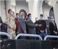 وزير الرياضة يشهد بروفة افتتاح مونديال اليد