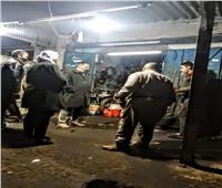 غلق وتشميع مطاعم وورش غير ملتزمة بمواعيد الغلق في الجيزة
