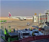 عاجل | مطار برج العرب يستقبل منتخب قطر لكرة اليد