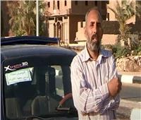 سائق تاكسي بسوهاج يقوم بتوصيل مرضى الأورام بالمجان