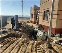 رصد مخالفات بناء بحي البيوت البدوية الجديد بشمال سيناء