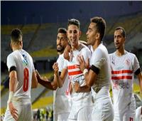 الزمالك يتقدم على المصري بالهدف الأول