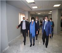 «عبد الدايم» تتفقد الأعمال الإنشائية في واحة الثقافة بـ6 أكتوبر