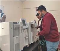 شمال سيناء في 24 ساعة  وصول ٣ أجهزة أكسجين جديدة.. الأبرز