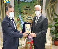 محافظ جنوب سيناء يستقبل سفير جمهورية طاجيكستان بالقاهرة