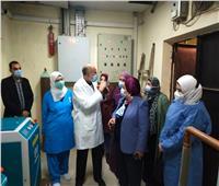 الصحة تشن حملة مكبرة على مستشفيات الغربية لمتابعه سير العمل