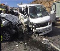 إصابة 9 أشخاص بحادث مروري مروع في بني سويف