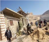 مراكز المنيا تتصدى للتعديات على أملاك الدولة وعشوائية البناء