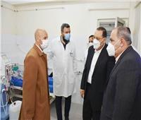 محافظ الشرقية يتفقد مستشفى ديرب نجم لمتابعة مصابي «كورونا»