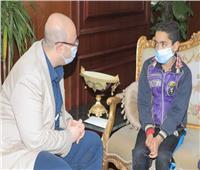 محافظ بني سويف يكلف «وكيل الصحة» بمتابعة حالة الطفل المصاب بخلل في الجهاز المناعي