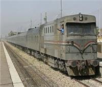 إصابة طفل صدمه قطار في الدقهلية