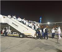 منتخب المجر يصل مطار القاهرة للمشاركة في مونديال اليد| صور