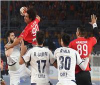 فراعنة اليد تفتتح المونديال بفوز مثير على تشيلي