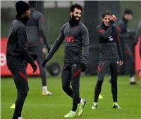 محمد صلاح في مران ليفربول استعدادا لـ«مانشستر يونايتد».. صور