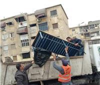 حملات يومية لرفع الإشغالات والمخالفات ببورسعيد