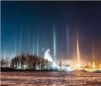 فلكية جدة: ظهورأعمدة الضوء بالنصف الشمالي للكرة الأرضية