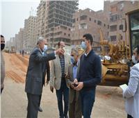 بعد شكاوى المواطنين.. بدء تطوير شارع عرابي بشبرا الخيمة