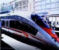 أول صور للوحدات المتحركة للقطار السريع «العلمين- العين السخنة»