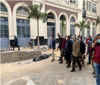 رئيس «السكة الحديد» يتفقد محطة مصر بالإسكندرية لمتابعة انتظام العمل