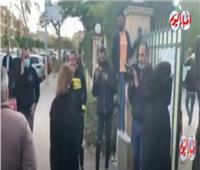وصول إلهام شاهين إلى جنازة صفوت الشريف.. فيديو