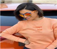 منة فضالي تشارك جمهورها بإطلالة «برتقالي»| صور