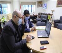 اجتماع «أون لاين» لمحافظ بني سويف مع منظمة اليونيدو