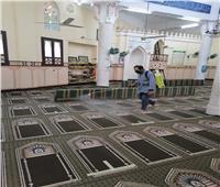 «الأوقاف» تواصل حملتها لتعقيم المساجد لمواجهة «كورونا».. صور