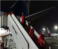 آخر المنتخبات المشاركة بمونديال اليد يصل مطار القاهرة | صور