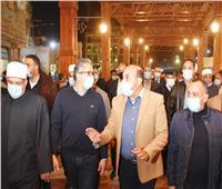 وزيرا السياحة والأوقاف يشيدان بالتطوير في ميدان المحطة والسوق السياحي بأسوان