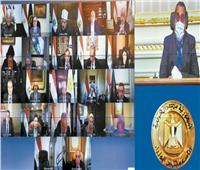 بدء الاجتماع الأسبوعي للحكومة لمناقشة عدد من الملفات