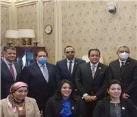 النائبة دعاء عريبي عضواً بلجنة حقوق الإنسان في «البرلمان»