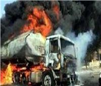 مصرع عامل في انفجار «تانك» سيارة في الصف بالجيزة