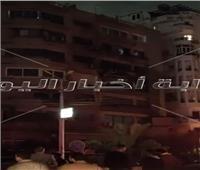 ماس كهربائي وراء حريق داخل شقة سكنية بمنطقة مصر الجديدة