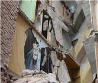 انهيار جزئي بمنزل في سوهاج وإنقاذ سكانه