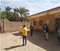 رفع إحدثيات محطة الصرف الصحي بنجع الشيخ علي بأسوان