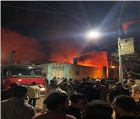 السيطرة على حريق «مخبز بلدي» بالبدرشين