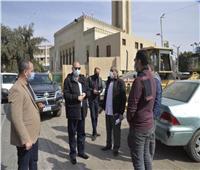 محافظ أسيوط يتفقد أعمال رصف شارع أحمد حسن الباقوري بحي شرق