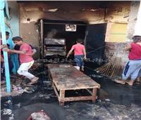 انفجار أسطوانة «بوتاجاز» داخل مخبز بلدي بقنا