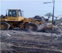 رفع 80 طن من القمامة خلال حملة النظافة المكبرة بالمنيا