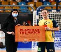 نجوم السويد ومقدونيا: ما تقوم به مصر في تنظيم البطولة أمر رائع