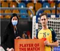 نجم منتخب السويد: نعيش أجواء حماسية في مصر وتنظيم المونديال رائع