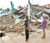 وفاة 35 شخصًا وإصابة المئات في زلزال بإندونيسيا
