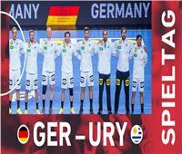 بداية المباراة.. ألمانيا ضد أوروجواي في مونديال اليد