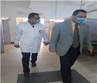 مرور مفاجئ لوكيل وزارة الصحة بالمنوفية على مستشفى تلا المركزي