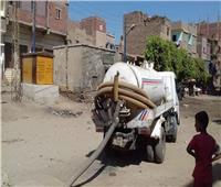 حملات لرفع القمامة وصيانة أعمدة الإنارة بديرمواس.. صور