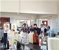 «مسئولو الإسكان» يتفقدون محطة تنقية مياه الشرب بالأميرية